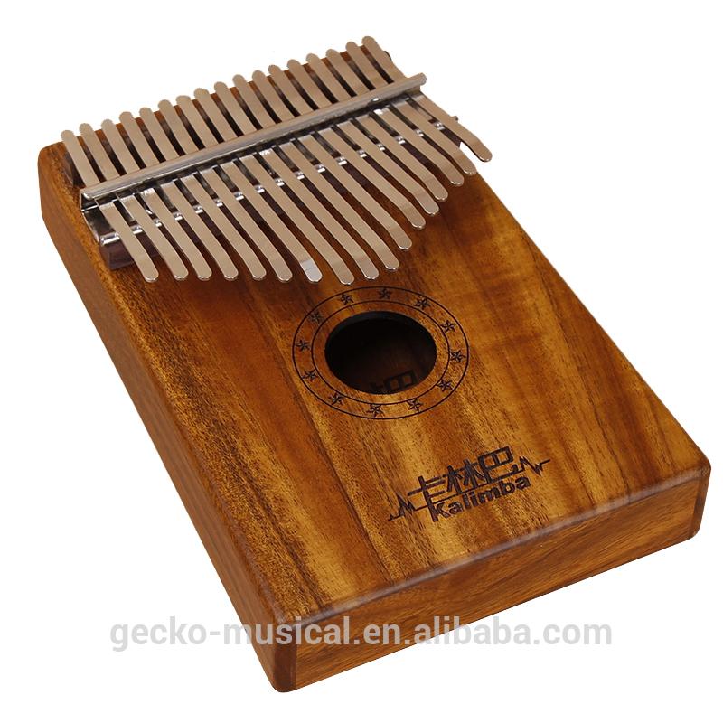 17 Tecla koa madera kalimba Gecko K17K Kalimba