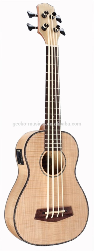 30 inche China fábrica ukulele U baixo