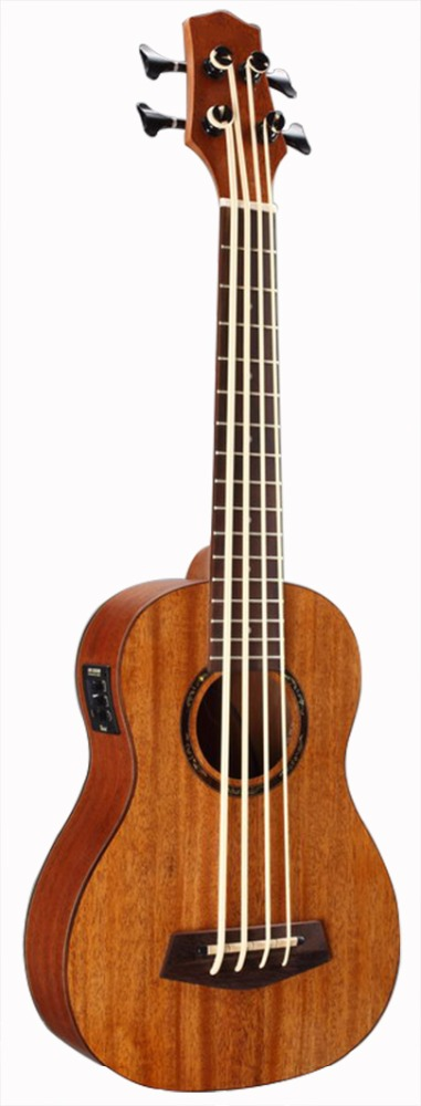 30 inche wholesale mahogany U bass guitar EQ ukulele
