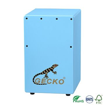 5 Different Colors Children Cajon Made by Imported Healthy Birch Wood