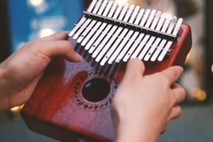 Perfect – GECKO kalimba with the width of keys