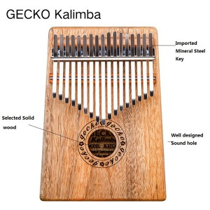 Africa Kalimba Thumb Piano 17 keyboards/ Camphorwood And Metal Kalimba New