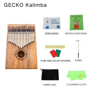 Africa Kalimba Thumb Piano 17 keyboards/ Camphorwood And Metal Kalimba New