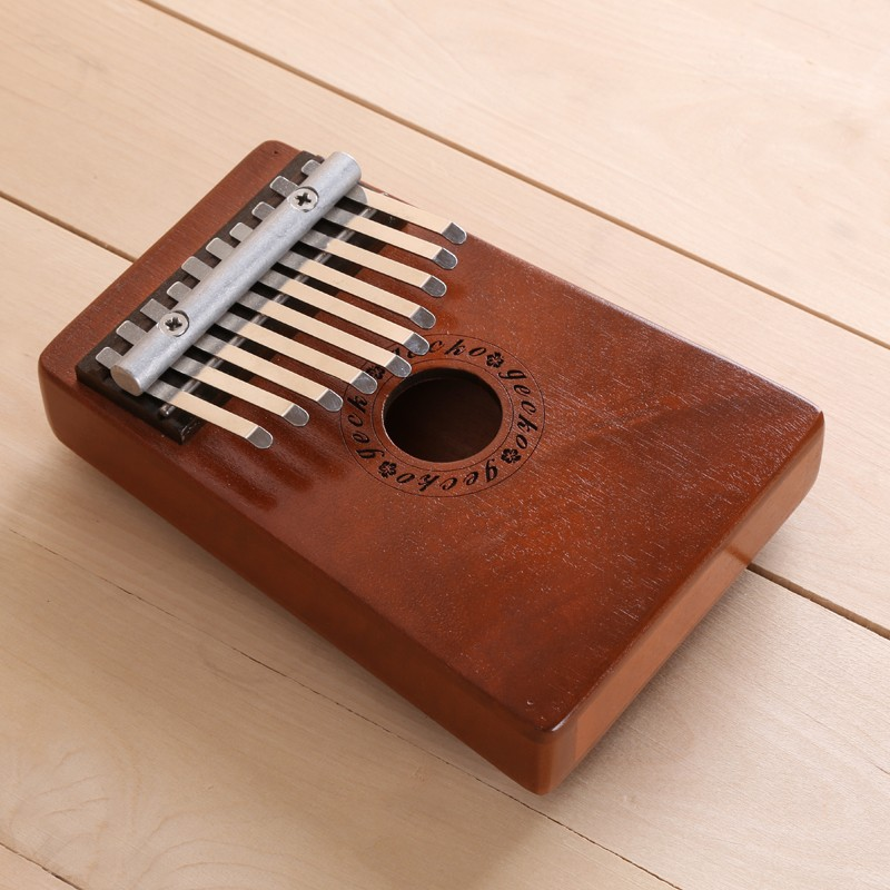 Afraga Kalimba Thumb Piano 10 Agus a 'Chlàir Mahogany Metal kalimba Percussion Instrument New