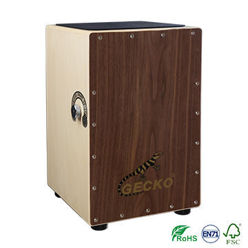 Best Sound cajon drum sets walnut tapping