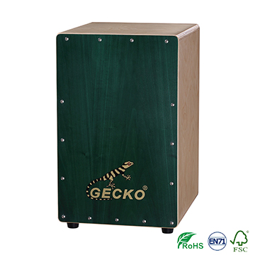 Birch wood cajon percussion drum box on factory price good quality