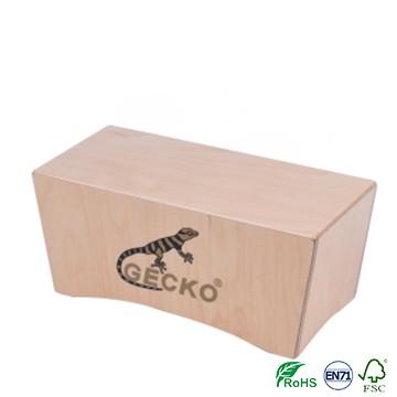 Bongo Cajon Drum KOA wood gecko brand