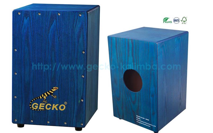 http://www.gecko-kalimba.com/ash-wooden-cajon-boxtransparent-blue-color-for-amusement-percussion-musical-drum-set.html