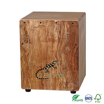 CAJON drum cheap-marching-drums,nature wood color,China Wholesale children's educational cajon