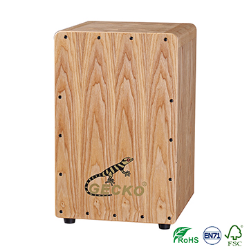Chanson Music box-shaped musical instrument playing box drums, ash wood cajon gecko brand drums