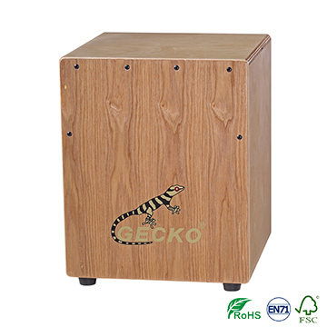 Cheap Price Factory Made Cajon Drum Box middle size for 7-10 years children for teaching and playing