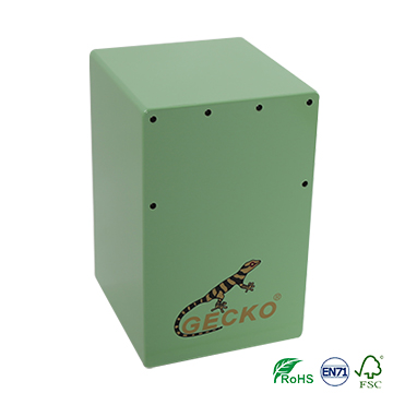 children toy snare wire cajon,green color drum Featured Image