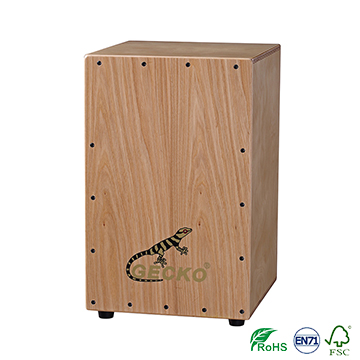 China Aiersi Cheap Price nature Wooden Box ,tech wood,musical instument tool for playing,musical cajon drum pad