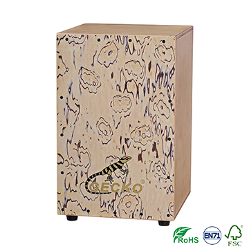 China Factory of Musical Instruments Percussion Cajon with Standard size