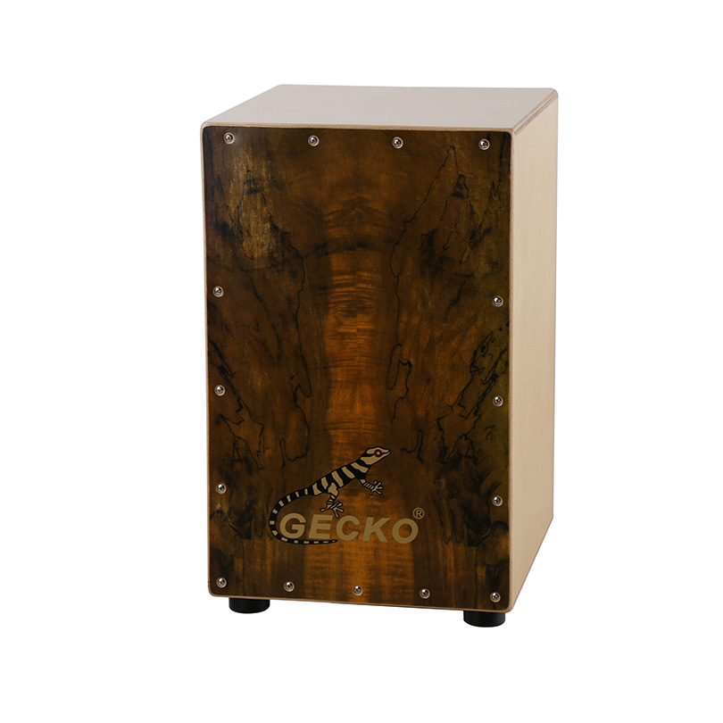 China handmade percussion wood box cajon drum for hot sale music instrument