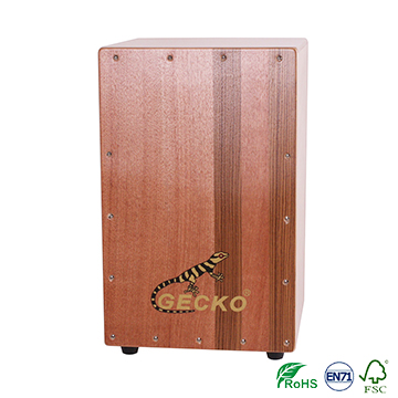 China handmade percussion wood box cajon drum for sale