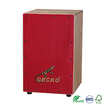 Chinese Cajon, Burl Cajon,birch wood drum box percussion