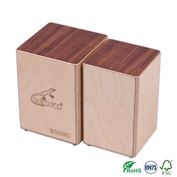 Double Percussion manu Cajon Drum Top Artigiani