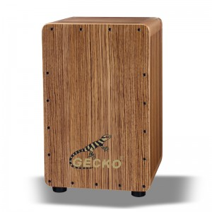Drum box cajon,Zebra wood | GECKO