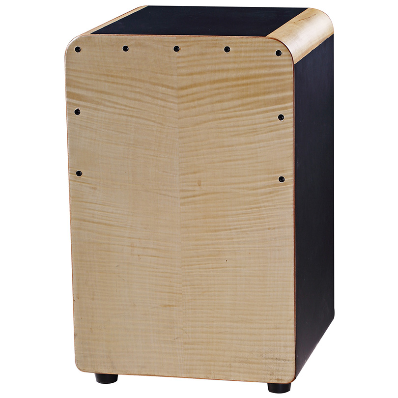 Electrical Latin Cajon wooden percussion drum set