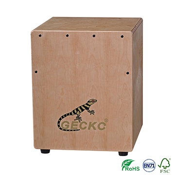 Factory made best sound gecko mini cajon drum