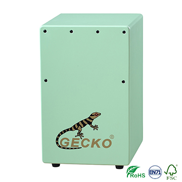 Factory made kids style design cajon drum with cajon bag