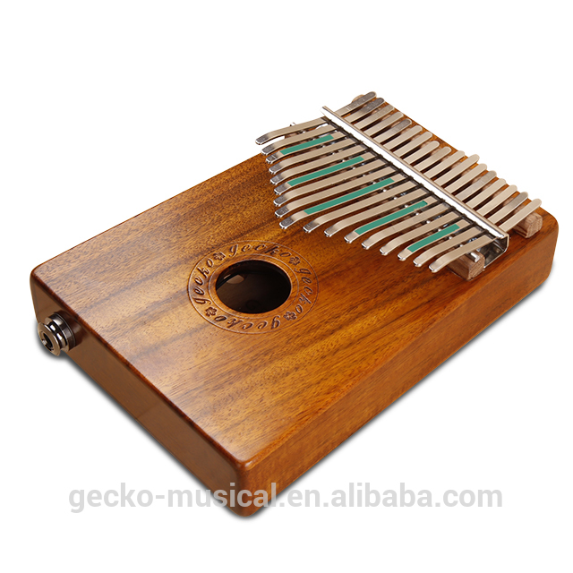 Gecko Kalimba K17K with EQ | best kalimba | GECKO