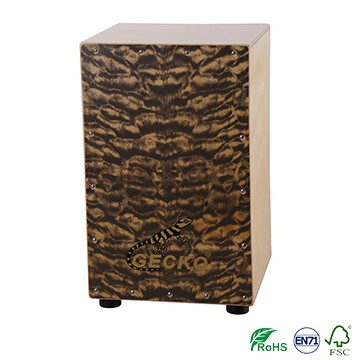 GECKO Patent Percussion Instrument Hand Drum Portable Wood Big Collapsible Cajon
