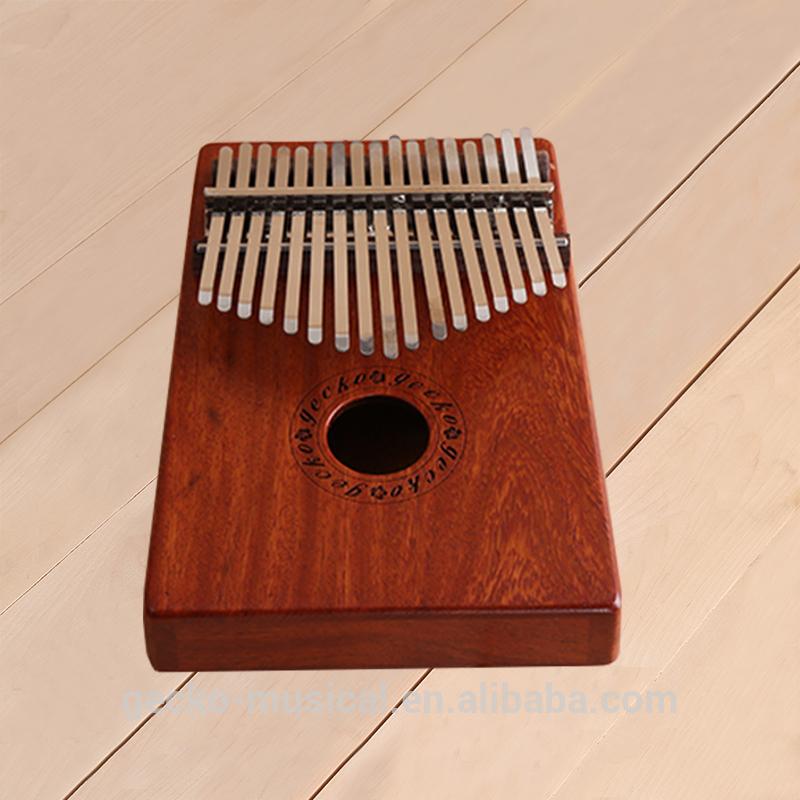 gecko rosewood african kalimba thumb piano