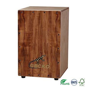 GECKO wholesale plywood cajon supplier,cajon drum