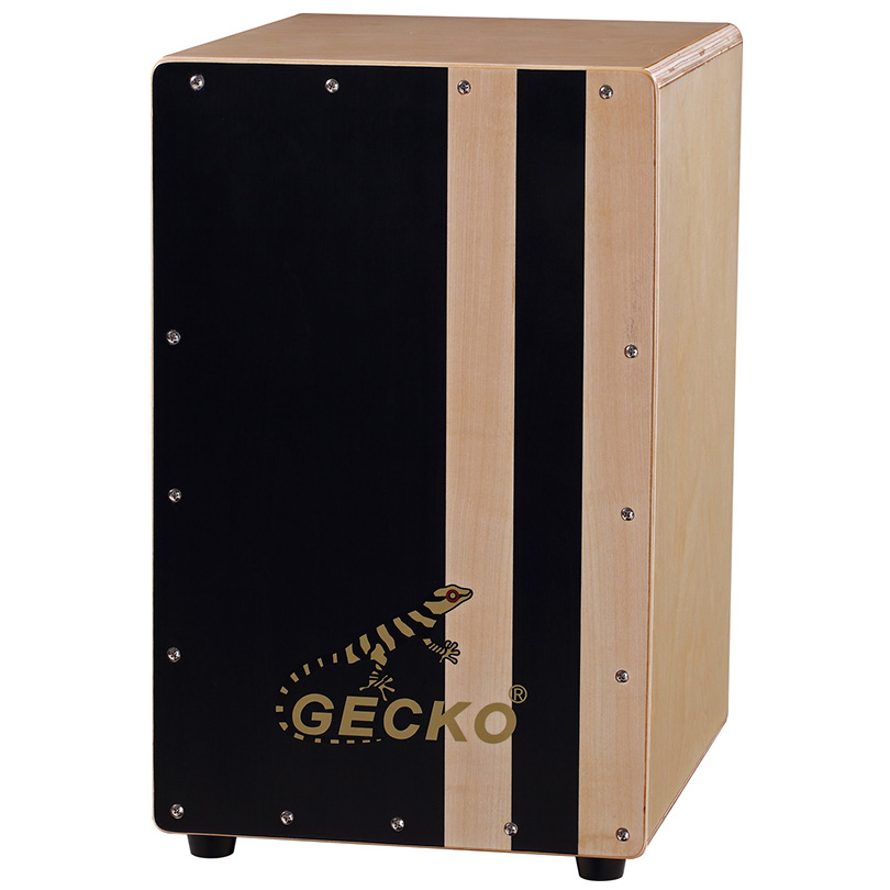 Handmade Cajon Percussion Box Hand Drum Natural,gecko brand drum sets
