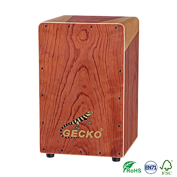 ხელნაკეთი Decals Pattern Cajon Percussion Box Hand Drum