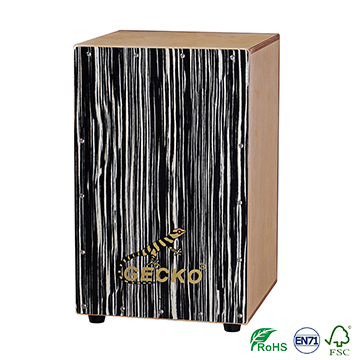 Handmade Decals Pattern Cajon Percussion Box Hand Drum,Peru musical jazz