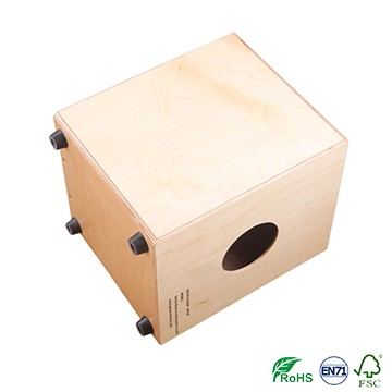 High quality children colorful wooden cajon for kindergarten school
