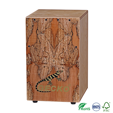 Hot selling maple CAJON Drum Musical Instrument mini serier
