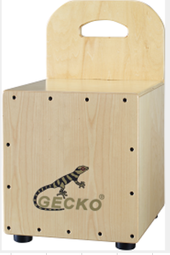 Kindergarten Cajon Drum with Backrest