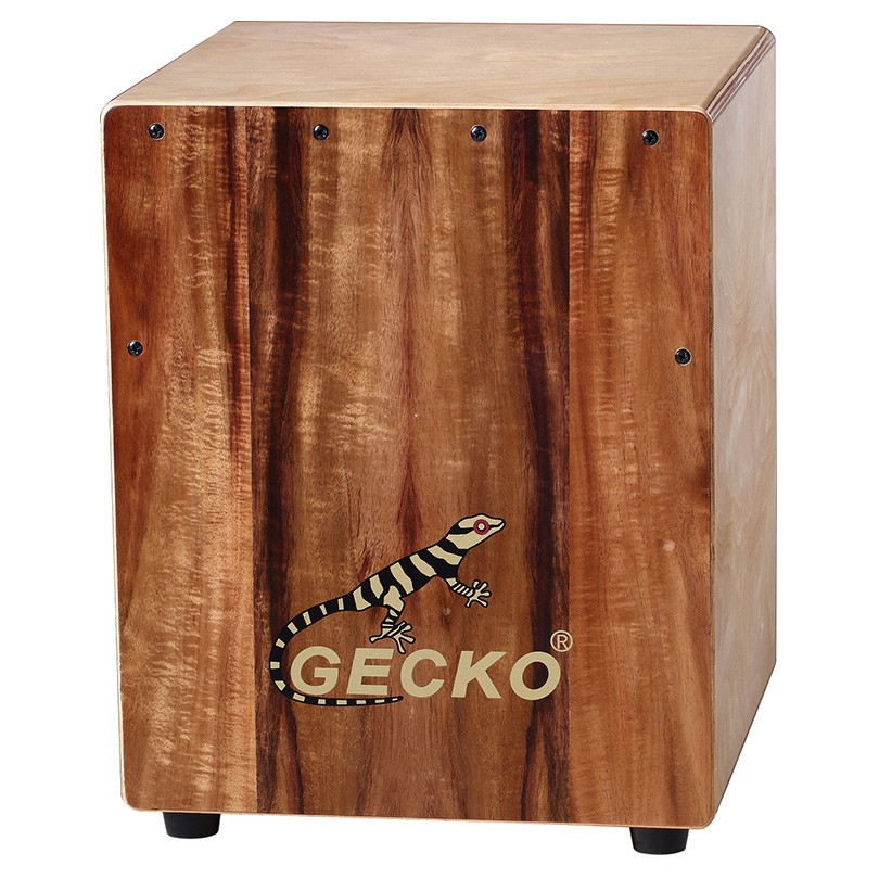 Koa Wood Made GECKO mini Haurtzaindegia cajon