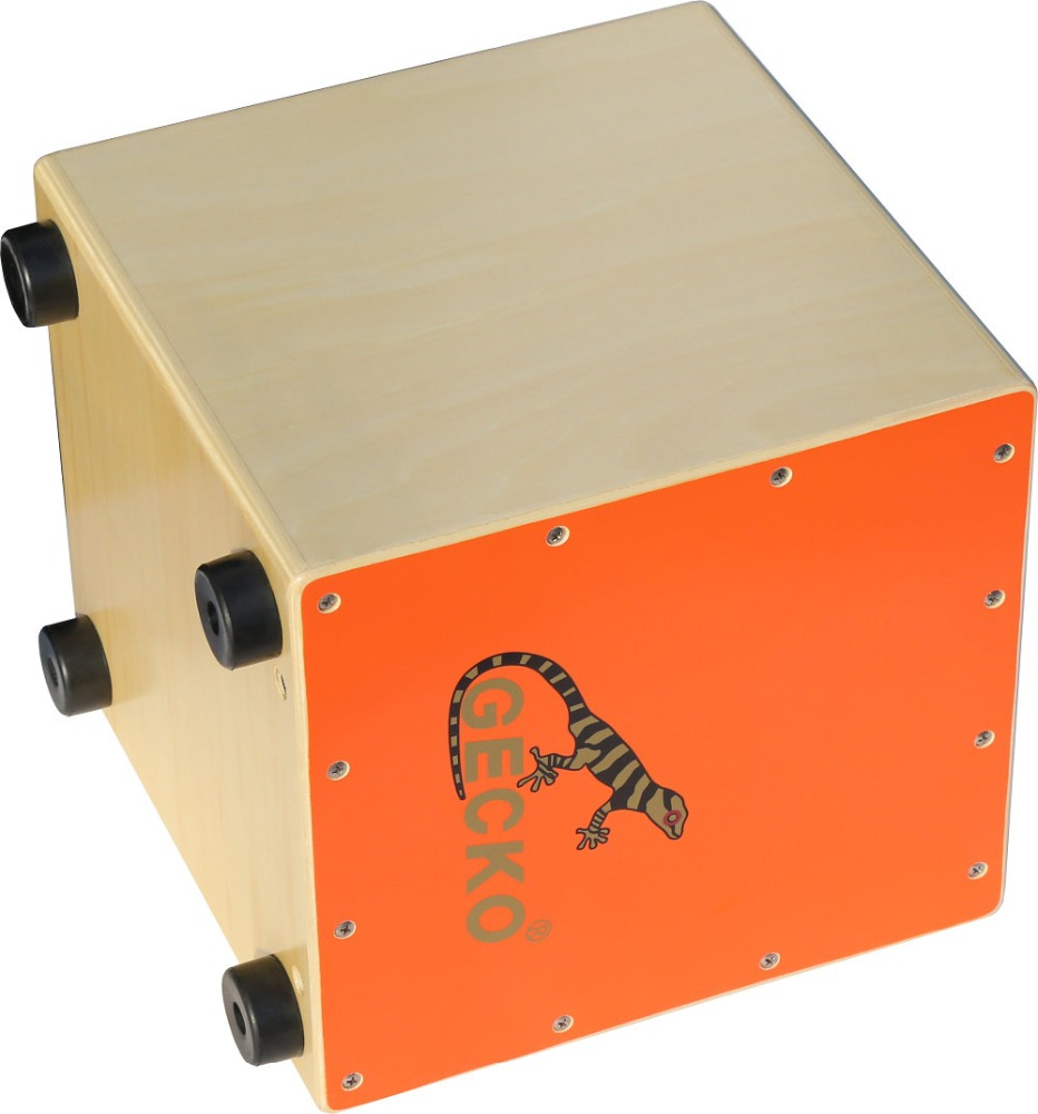 light orange colorful middle junior cajon for school kids