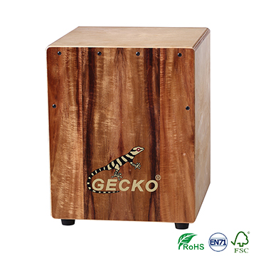 middle size cajon drum sets for GECKO brand ,handmade,competitive price in factory