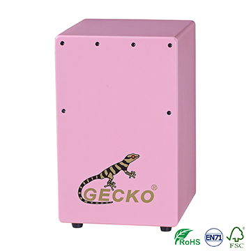 Supply OEM/ODM 17 Notes Kalimba - Mini Cajon Drum,pink color for children learning 4-7 years old – GECKO