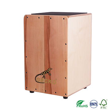 New design cajon drum with apple wood in GECKO BRAND cajon