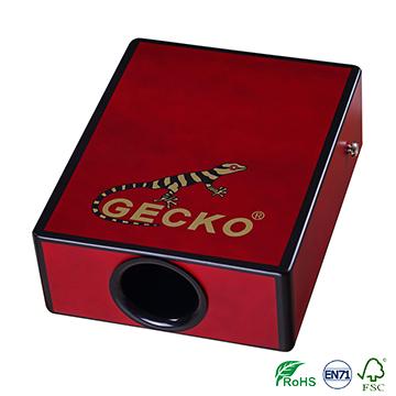OEM/ODM China Drum Box Cajon - pad/travelling cajon,sunburst/red color brich wooden cajon – GECKO