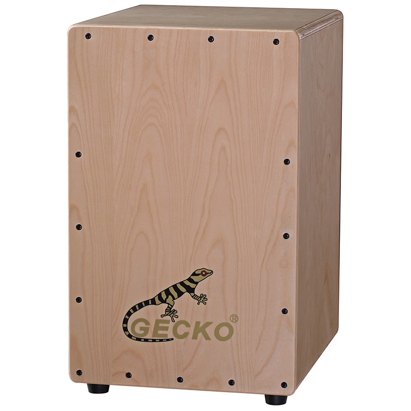 percussion musical instrument Cajon box drum,nature color,musical percussion drum set