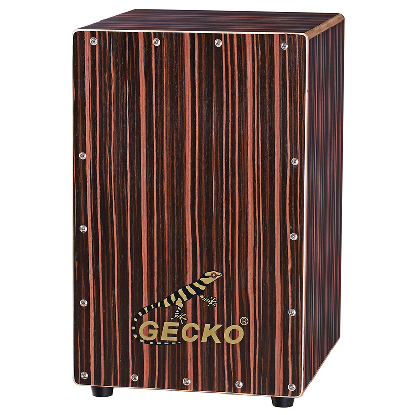 percussion musical instrument ebony wood musical percussion Cajon box drumminiature drum