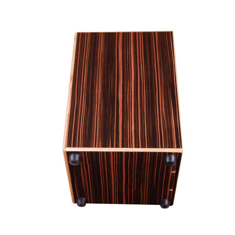 Exporter Piano Black Furniture Percussion Al Instrument Ebony Wood Cajon Box Drumminiature