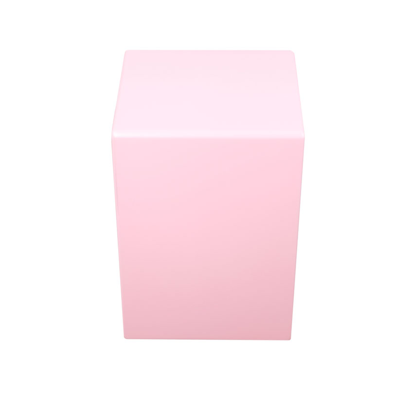 pink color gecko cajon for small size children playing,travelling portable