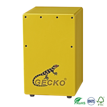 Promotion musical instrument hand drum/cajon box,children series for stage playing