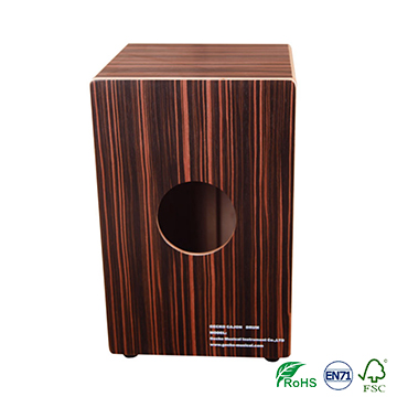 Promotion musical instrument hand drum percussion wooden cajon drum