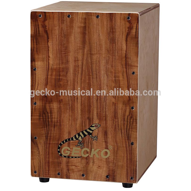 wholesale handmade good quality cajon with cajon pedal