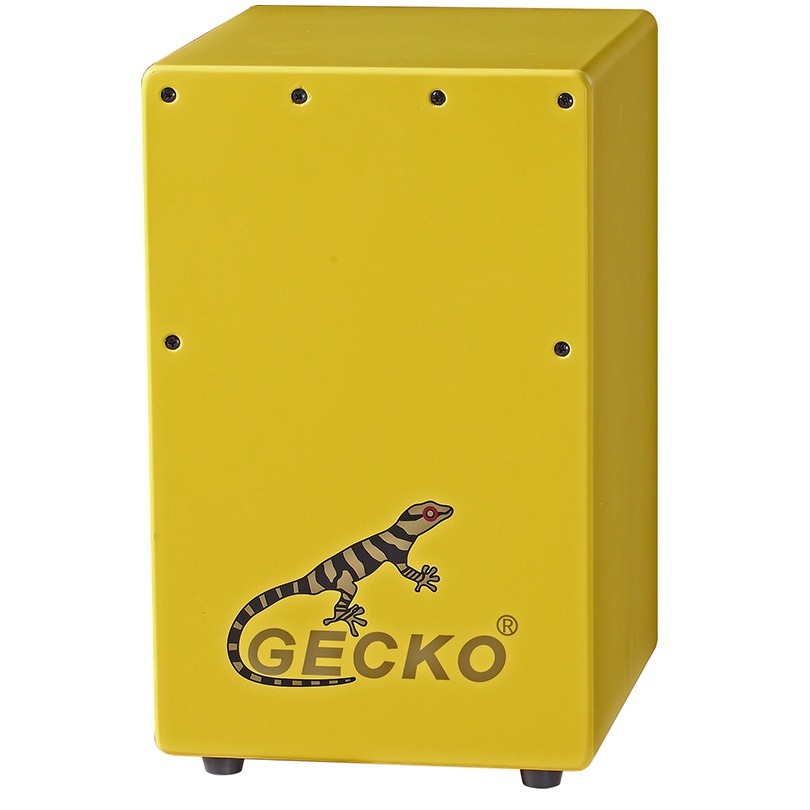 yellow cajon for gecko iri, launi Paint, shigo da Birch itace yara wasa
